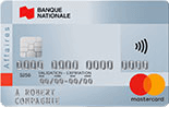 Carte affaires Mastercard