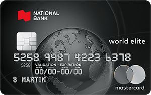 Mastercard credit cards national bank world elite mastercard reheart Image collections