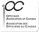 Logo Association des Opticiens du Canada (OAC)