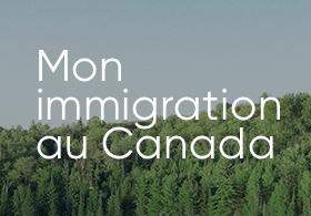 Paysage de forêt au Canada