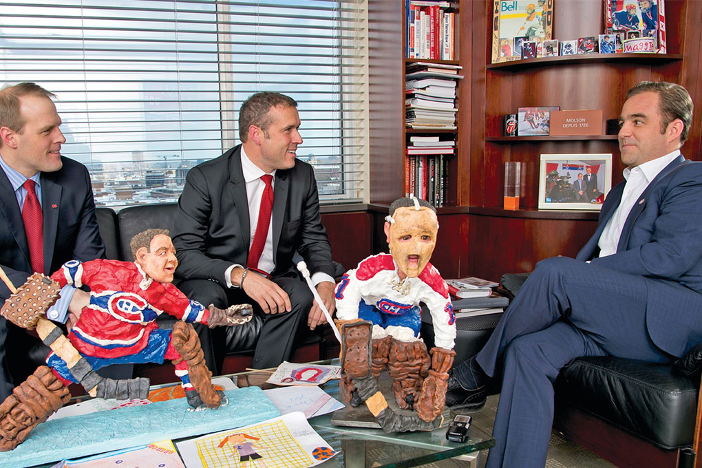 Geoff Molson, owner of the Canadiens Hockey Club